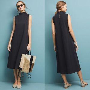 Anthropologie x Velvet Black Fiona Midi Dress